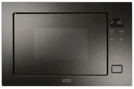 Forno Micro-ondas Franke Crystal Black 25L 60cm de embutir vidro preto 220V