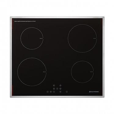 Cooktop Elettromec Indução 60cm inox 220v CKI-4Q-60-CI-2XBA