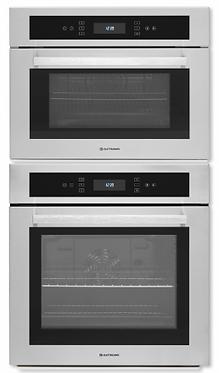 Forno + Micro-ondas Elettromec Sole elétrico 60cm de embutir inox 220v