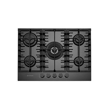 Cooktop Elettromec Vetro 5 queimadores à gás 70cm vidro bivolt CKG-5Q-70-VT-3TNA