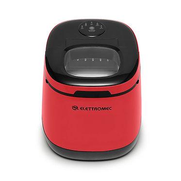 Ice Maker Elettromec portátil vermelha 220v IM-FS-12-VP-2AHA