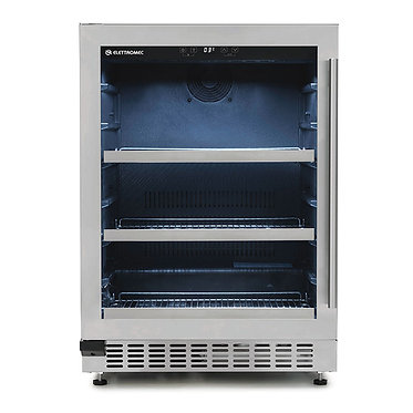 Cervejeira Elettromec Beer Center 135 Litros built-in inox 127/220v A/E