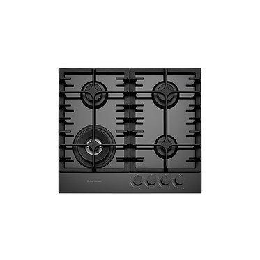 Cooktop Elettromec Vetro 4 queimadores à gás 60cm vidro bivolt CKG-4Q-60-VT-3TNA