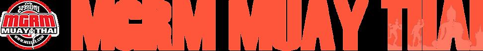 MGRM Muay Thai Logo and Banner