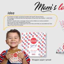 Mom's Love wrapper