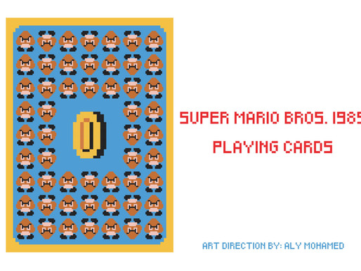 Mario Play cards