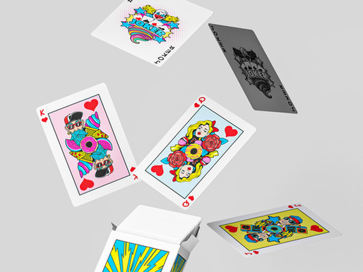 Playing Cards Pop Art