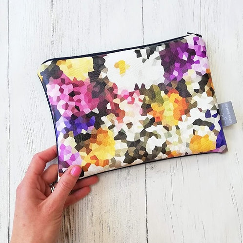 WILDFLOWER | Faux Leather Pouch