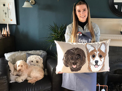 Interview with Textile artist 'Cushy Paws'
