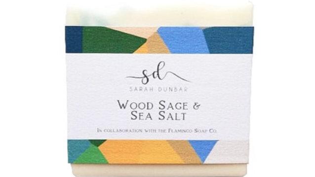 Wood Sage & Sea Salt Soap Bar