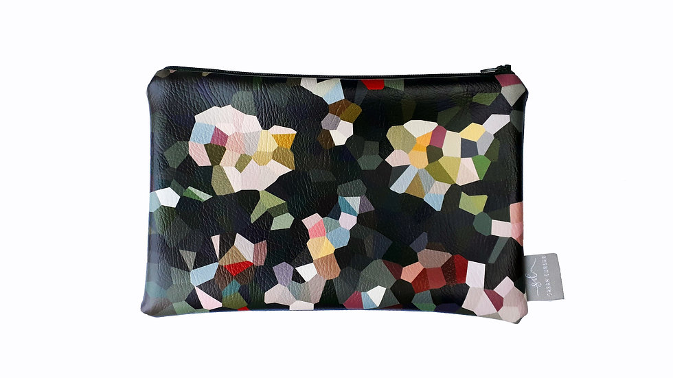 STELLAR |  Faux Leather pouch