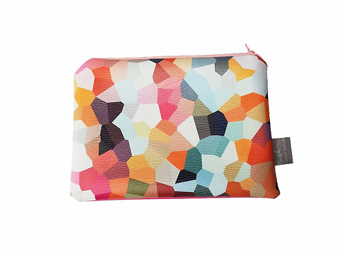 CONFETTI | Faux Leather Pouch
