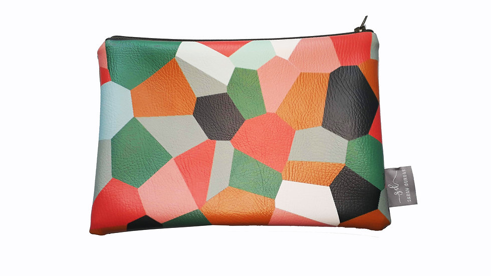 CAMO |  Faux Leather pouch