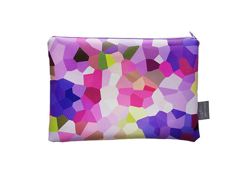 LILAC    Faux Leather pouch