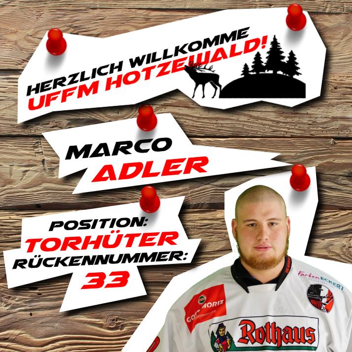 Torhüter:     Marco Adler    #33