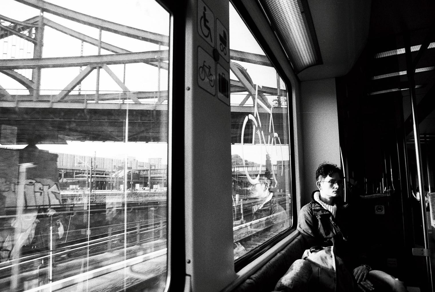 Die Einsamkeit / Canon AE-1 / BW 200