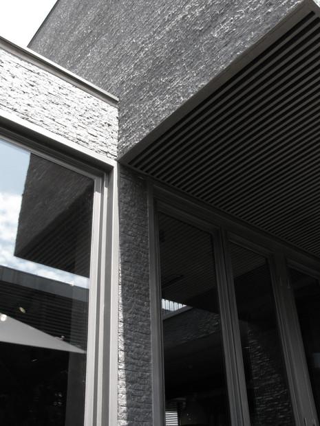 Window frames detail