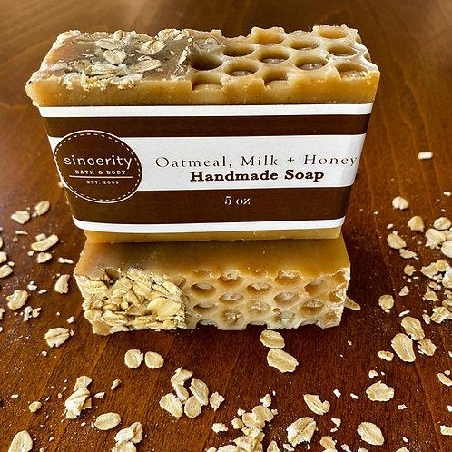 Oatmeal, Milk, & Honey Handmade Soap