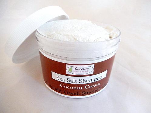 Coconut Cream Sea Salt Shampoo