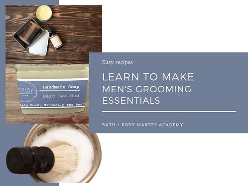 Men's Grooming Course
