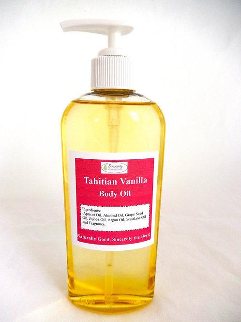 Tahitian Vanilla Body Oil 6 oz.