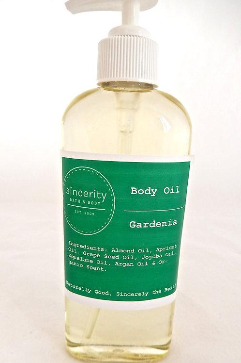 Gardenia Body Oil 6 oz.