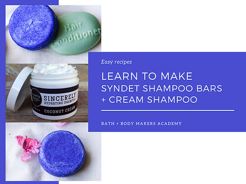 Syndet Bar + Cream Shampoo Course