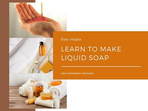 Liquid Soap Course