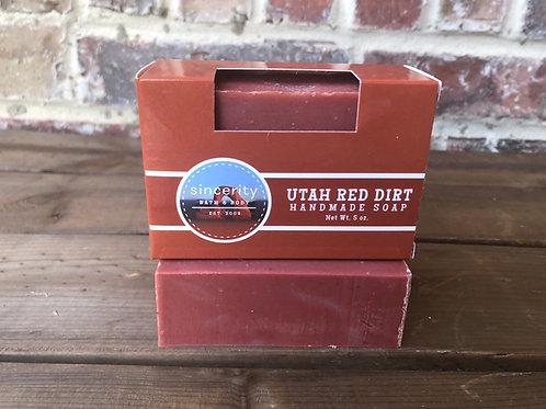 Utah Red Dirt Handmade Soap