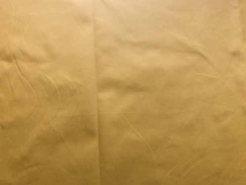 Pure Dull Yellow Premium Waterproof Fabric W 63in 16m Code