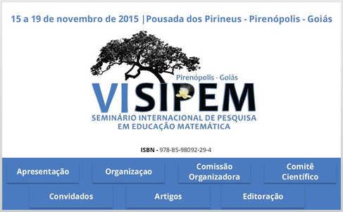 SIPEM - Seminário Internacional de Pesquisa em Educação Matemática