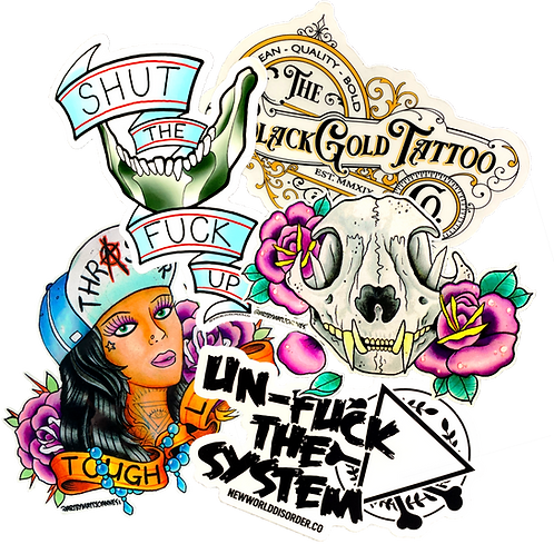 Sticker Pack (6)