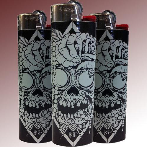 Skull & Rose Lighter