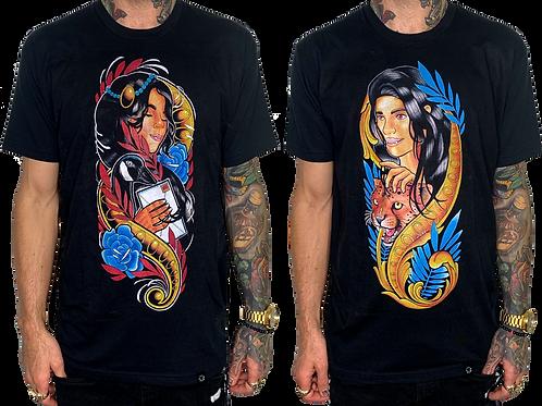 Men's Set of Neo Girl T-Shirts(2)