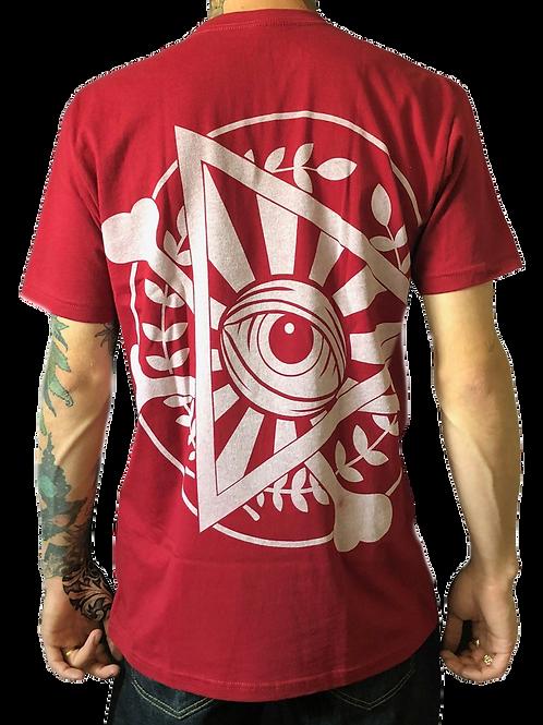 NWD Eye Maroon T Shirt