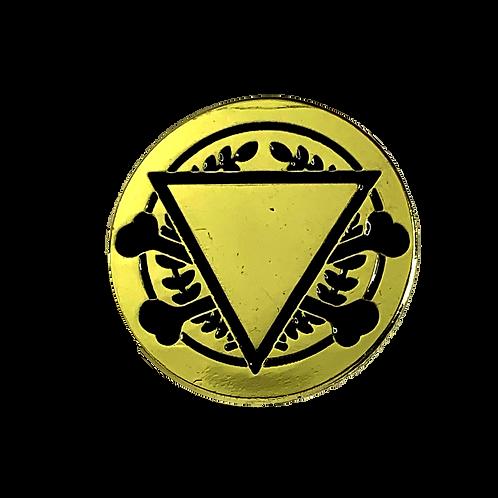 Gold Pin (NWD Logo Eye)