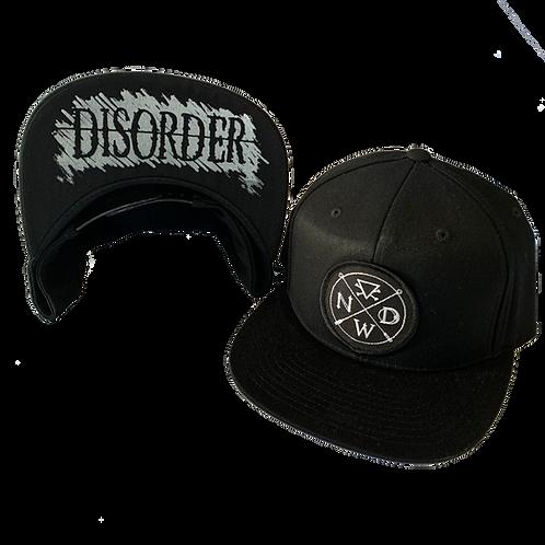 (Printed Bill) Badge Snapback Hat