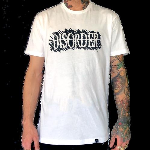 Men's DISORDER White T-Shirt