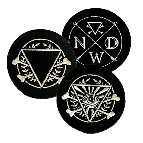 Logo Patches (3 Pack)