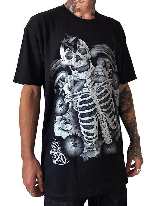 Sacred Geo Skull T Shirt