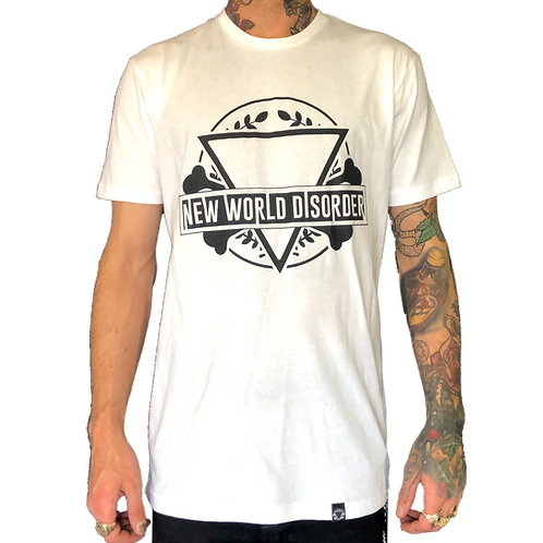 Men's Clean Cut Eye T-Shirt (White)