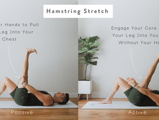 Active v Passive: Legs