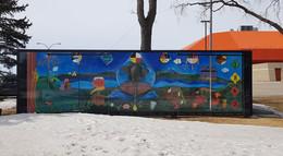 East Mural installed