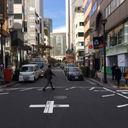松屋通り SOFINA前|通行量