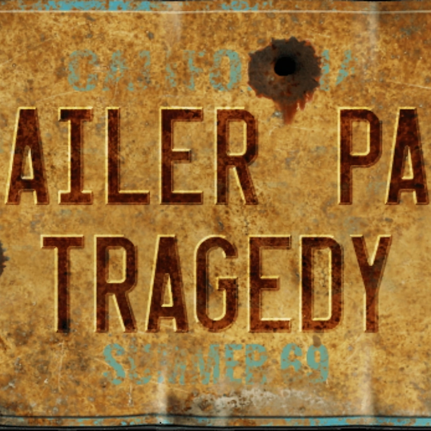 Trailer Park Tragedy-Murder Mystery Event