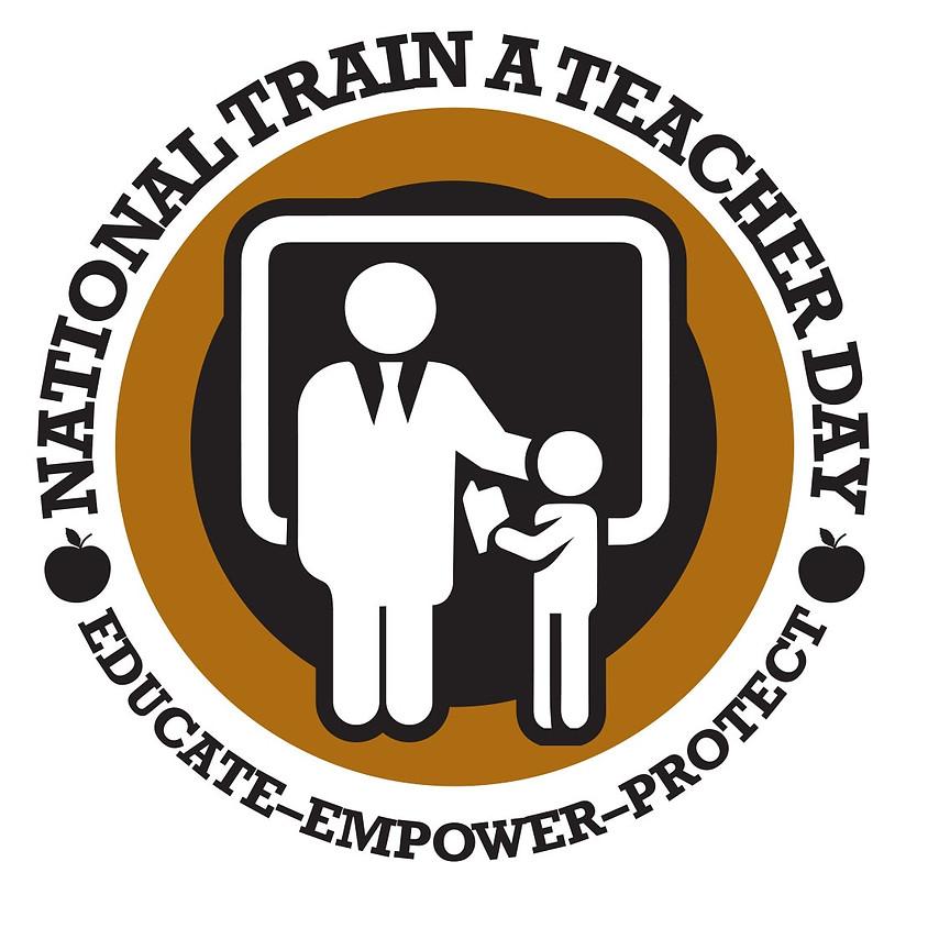 National Train a Teacher Day - Intro to Handgun Course