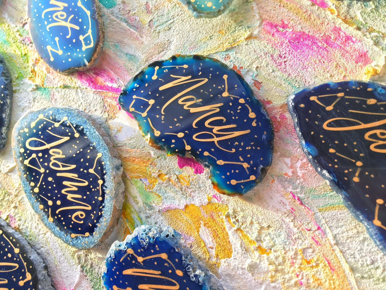 Starry Night Agates