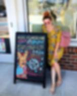 Baltimore Chalkboad Artist