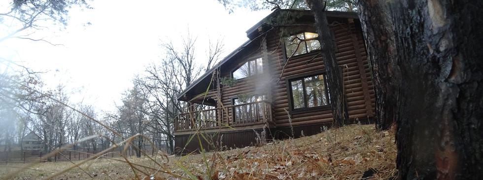 Дом из ОЦилиндрованного бревна 170 м2