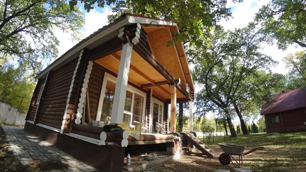 Дачный дом на берегу Волги